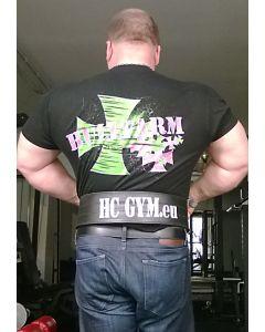HC GYM sujungiamas diržas, juoda