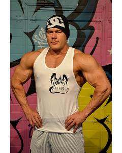 HC GYM Atletiški marškinėliai, balta
