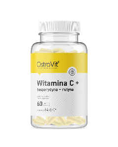 OstroVit Vitamin C + Hesperidin + Rutin 60 kapsulių