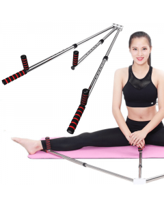 Split trainer leg spreader stretching device leg extension