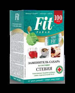 Fit Parad №10 cukraus pakaitalas (100 pakelių)